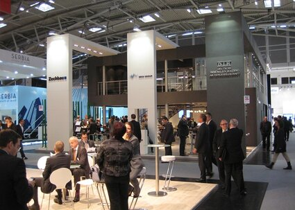 Stand auf der Expo Real