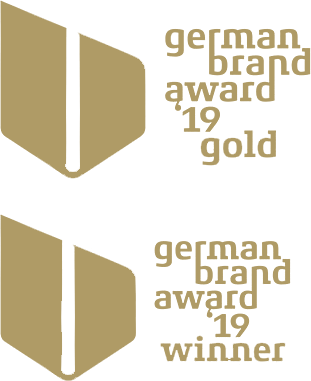 logo German Brand Award Gold