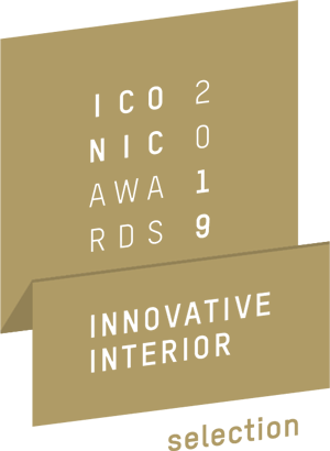 logo Iconic Award Innovative Interior Gold 2019